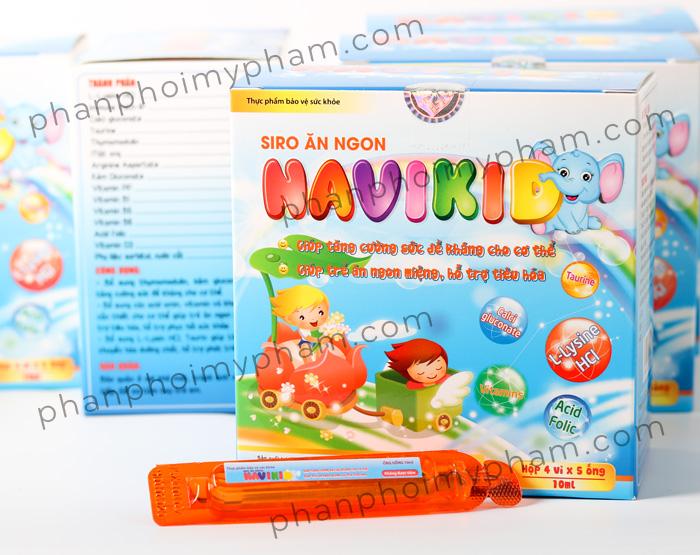 Siro ăn ngon NAVIKID - sản phẩm của Học Viện Quân Y Việt Nam