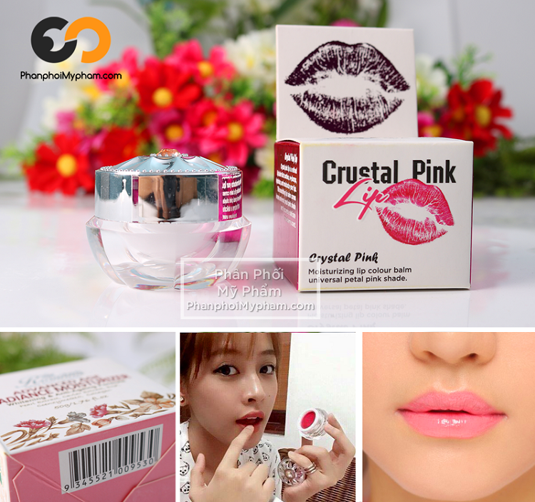 son crystal pink lip