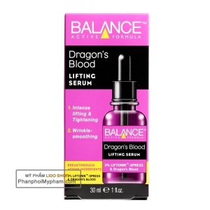 Tinh chất dưỡng da Balance Active Formula Dragons Blood Lifting Serum 30ml (Tím)
